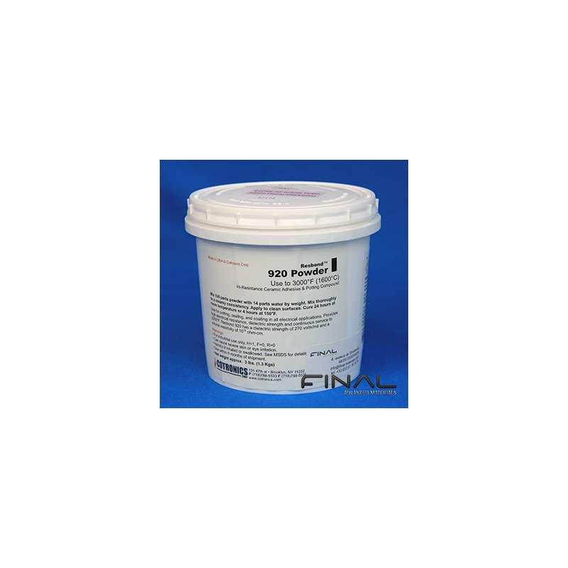 Cotronics Resbond 920 ceramic adhesive alumina high temperature