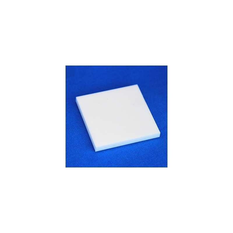 La plaque carrée en macor permet la réalisation de pièces céramiques