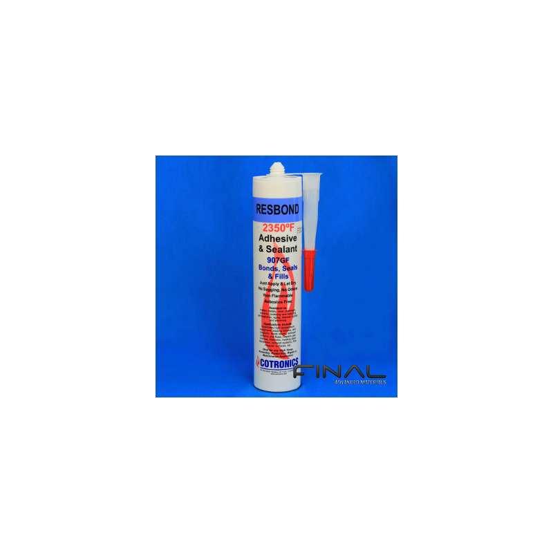 Cotronics Resbond 907GF ceramic adhesive high temperature