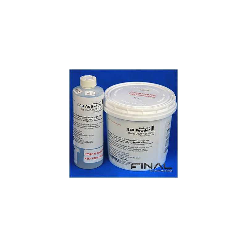 Cotronics Resbond 940 ceramic adhesive zirconia high temperature