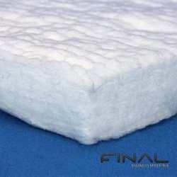 Feutre en fibre biosoluble résistant aux hautes températures