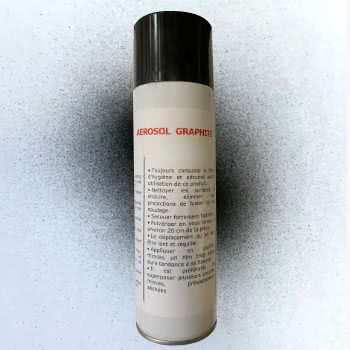 Aérosol revêtement de graphite