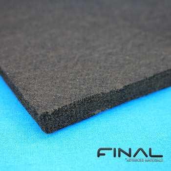 Feutre souple en fibre de graphite et carbone