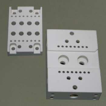 Céramique technique usinable à base de Shapal M™ Soft.