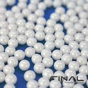 ZrO2 zirconia balls with high temperature and mechanical strength