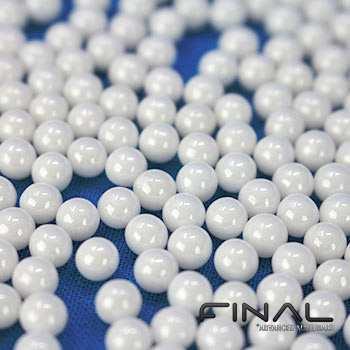 Zirkoniumoxid Keramikkugeln ZrO2 für Hochtemperatur und mechanische Festigkeit