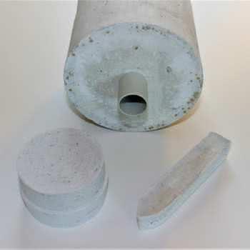 Castable ceramic cement