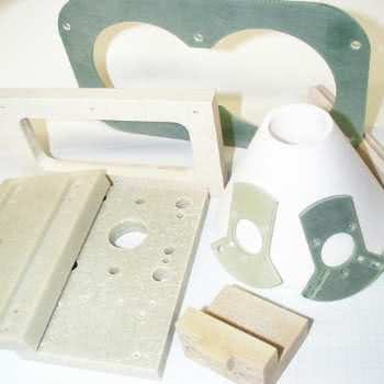 Machinable epoxy parts.