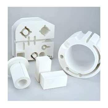 Refractory ceramic part