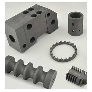 Machined graphite parts