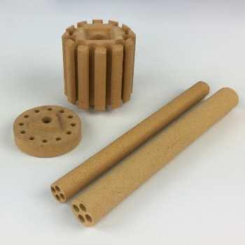 Pressed technical ceramic
