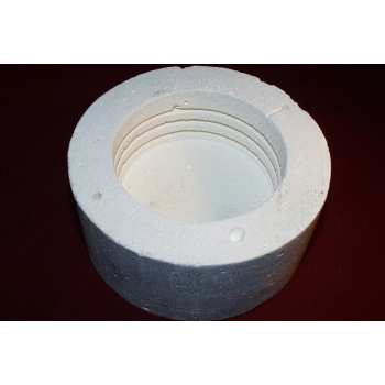 Castable ceramic cement application.