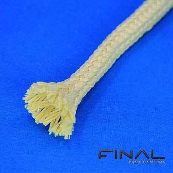 Gaine en fibre d'aramide isolante thermique