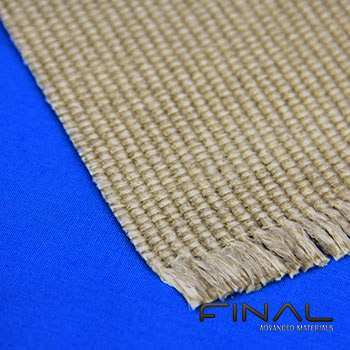 Zetexplus high temperature fabric vermiculite coated glass fibre