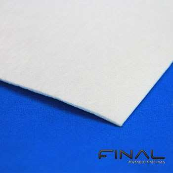 Biosoluble ceramic fiber paper thermal insulator