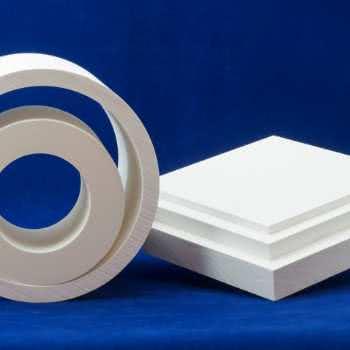 Plaques et tubes en fibre de zircone FBD.