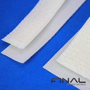 Aramid Tapes with aramid loops and polyamide monofilament hooks