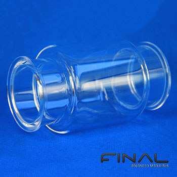 Hochtemperatur bearbeitbares Quarzglas