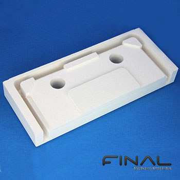 Calcium silicate machinable thermal insulation
