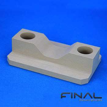 Machinable Alumina silicate parts.