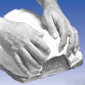 Feutre céramique malléable humide de la marque Cotronics.