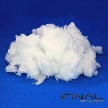 Biosoluble ceramic bulk fiber for high temperature insulation