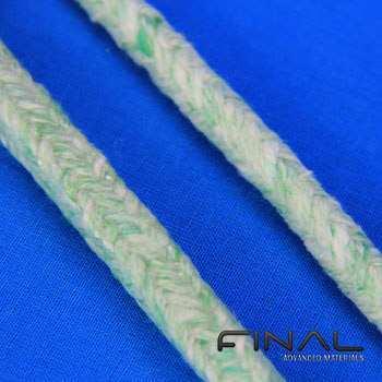 Biosoluble ceramic fiber rope thermal insulation