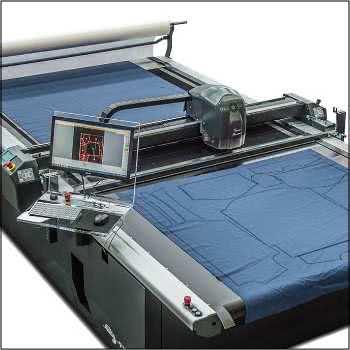 Table de découpe à commande numérique pour textiles et composites.