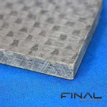 Plaque en composite fibre de verre epoxy pour l'isolation haute temperature, usinage suivant plan