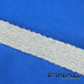Bänder aus biolöslichen Fasern bis 1200°C