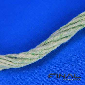 Biosoluble fibre ropes and cords