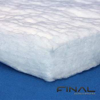 Hochtemperatur Filz aus biolöslichen Keramikfasern