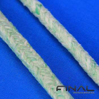 Biosoluble fibre ropes, cords and braids.
