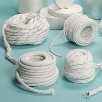 Wide range of high temperature braids, ropes and cords