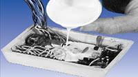 Utilisation de silicone sur une pièce destinées à la haute température