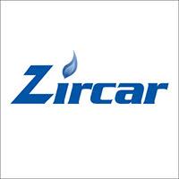 Logo de la marque Zircar Zirconia.