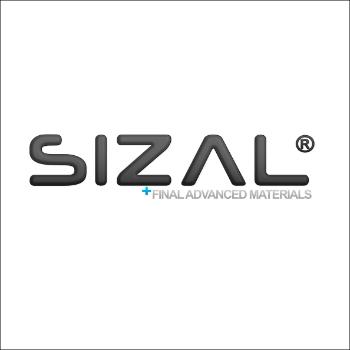 Logo de Sizal, marque déposée de Final Advanced Materials.