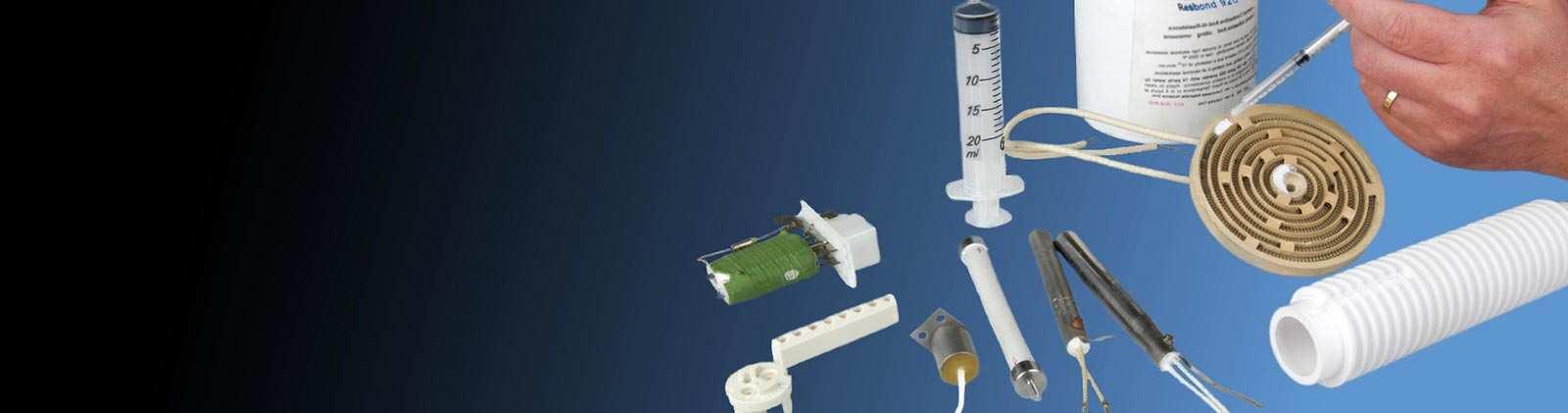 Unser Sortiment an Hochtemperaturklebstoffen für Anwendungen von 200°C bis über 2000°C.